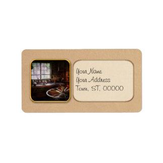 Woodworker - The wheelwright shop Address Label