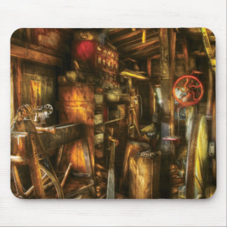 Woodworker - The workshop of a very busy person Mouse Mat