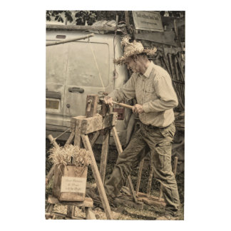 woodworker wood print