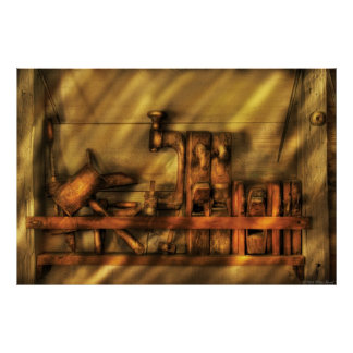 Woodworker - Wood Working Tools Print