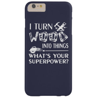 Woodworking Barely There iPhone 6 Plus Case