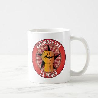Woodworking Is Power Coffee Mug