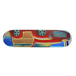woody skate deck