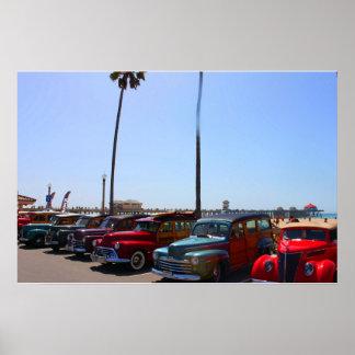 Woody's At Huntington Beach Pier Poster