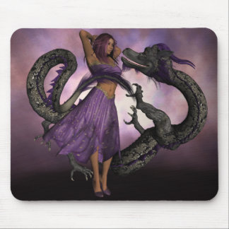 Wooed by the Dragon Mouse Mat
