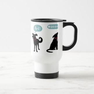 Woof Bark Arf Woooo Coffee Mug