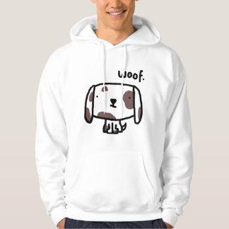 Woof. Dog Hoodie