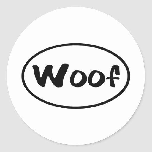 woof-euro stickers