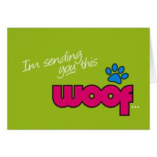 Woof General Card