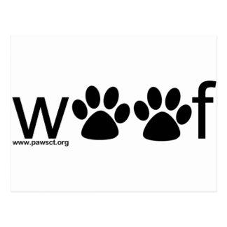 Woof Postcard