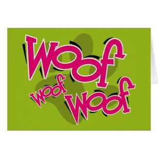 Woof Woof Card