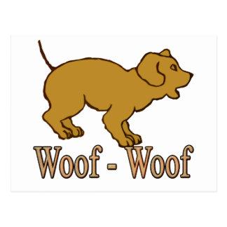 Woof - Woof Postcard