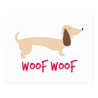 Woof Woof Postcard