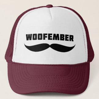 Woofember Trucker Hat (burgundy)