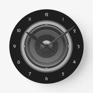Woofer Wall Clock