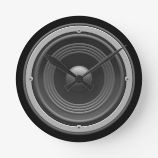 Woofer Wallclock
