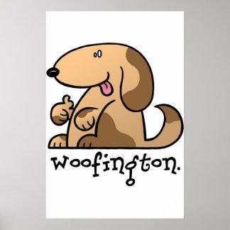 Woofington the Doggy Print