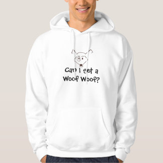 woofy woof logo, Can I get a Woof Woof? Hoodie