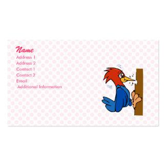 Woogy Woodpecker Pack Of Standard Business Cards