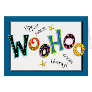 Woohoo Fun Add-any-age Birthday Greeting Card