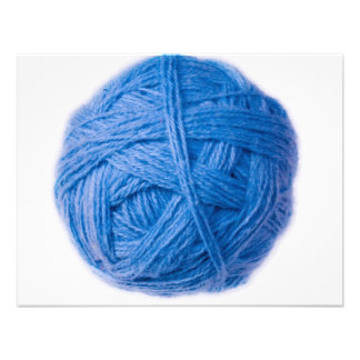 wool ball invitations