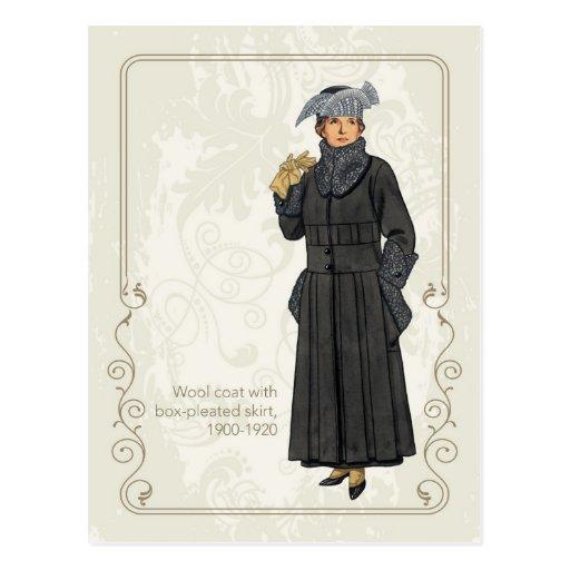 Wool Coat Post Cards