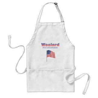 Woolard for Congress Patriotic American Flag Standard Apron