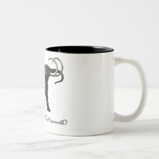 Wooley Mammoth Two-Tone Coffee Mug