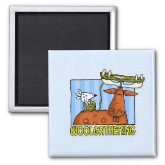 woolgathering refrigerator magnet