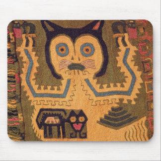 Woollen figure of a jaguar, Paracas Culture Mouse Mat