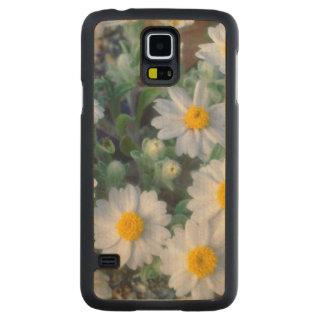 Woolly Daisy Wildflowers Maple Galaxy S5 Slim Case