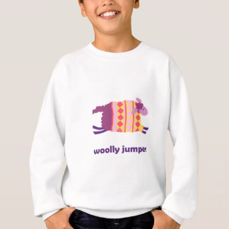 Woolly jumper! (red and yellow) sweatshirt