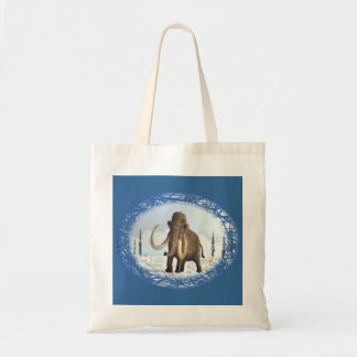 Woolly Mammoth Budget Tote Bag