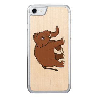 Woolly Mammoth Carved iPhone 7 Case