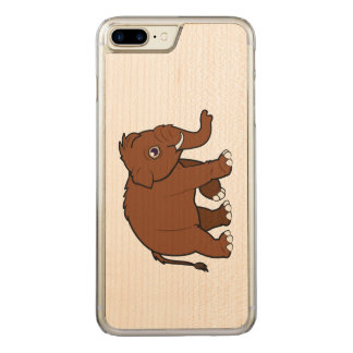 Woolly Mammoth Carved iPhone 7 Plus Case