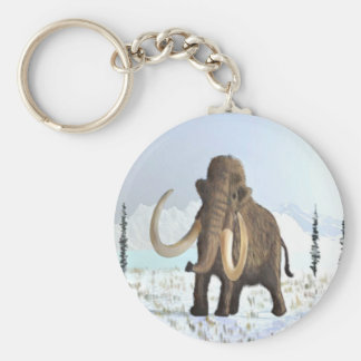 Woolly Mammoth Key Ring