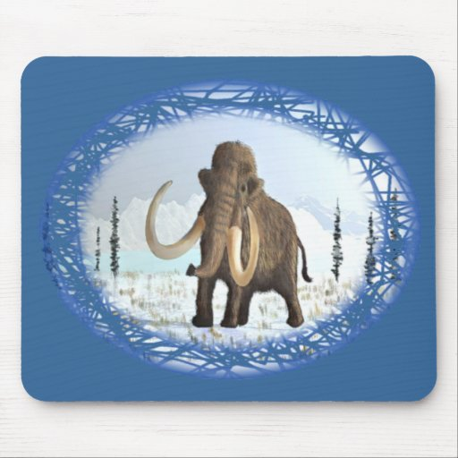 Woolly Mammoth Mouse Pad