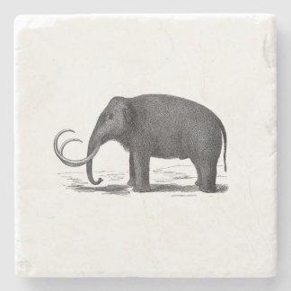 Woolly Mammoth Pre-Historic Elephant Stone Coaster