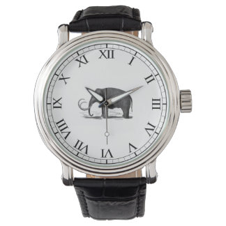 Woolly Mammoth Pre-Historic Elephant Wristwatches