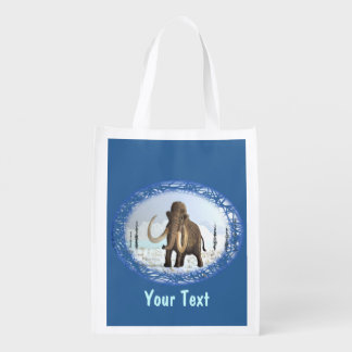 Woolly Mammoth Reusable Grocery Bag