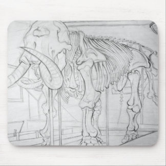 Woolly Mammoth Skeleton Mouse Mat