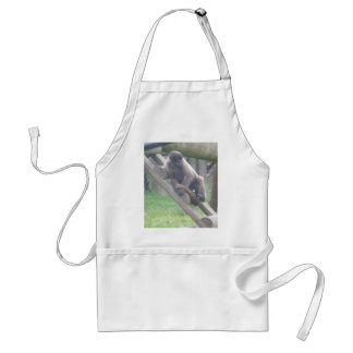 Woolly Monkey Apron, Animals Collection Standard Apron