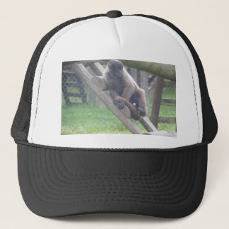 Woolly Monkey Cap, Animals Collection Trucker Hat