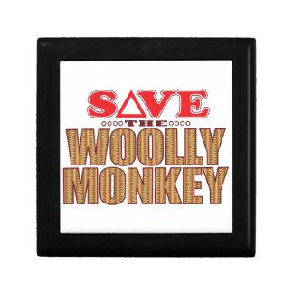Woolly Monkey Save Gift Box