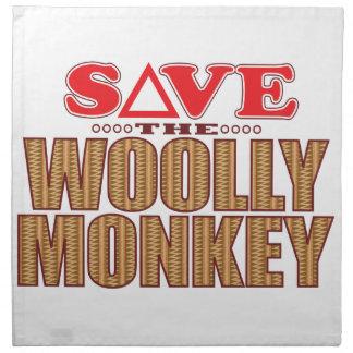 Woolly Monkey Save Napkin
