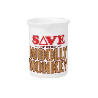 Woolly Monkey Save Pitcher