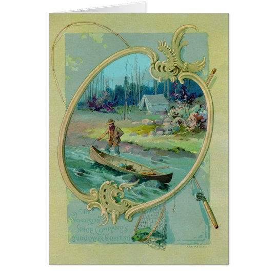 Woolson Spice Company Greeting Card
