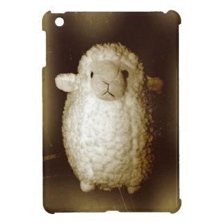 Wooly Fuzzy Sepia Lamb iPad Mini Cases