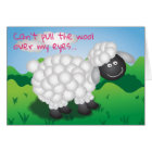Wooly Sheep Valentine Card