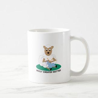 Wooly Sweater Knitter Coffee Mug